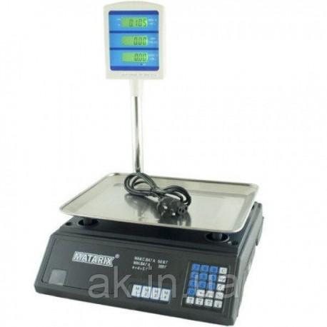 Весы торговые MATARIX MX-411+ 50кг