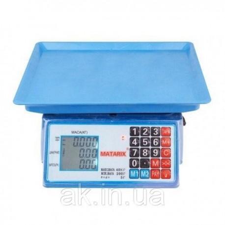 Весы торговые MATARIX MX-412 50кг M