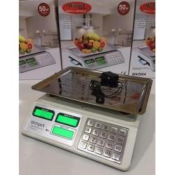 Весы торговые WIMPEX WX-5004 50 kg 6v