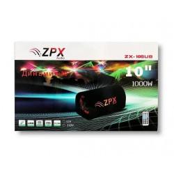 """Автомобильный Сабвуфер ZX 10"""" Cm 1000W"""