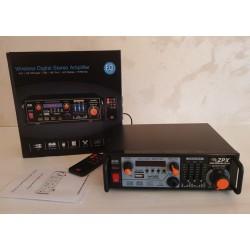 Усилитель мощности звука AMP ZX-1312, MP3 USB Micro SD FM Bluetooth