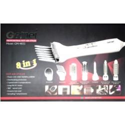 Набор для укладки волос, воздушный стайлер 1000W Gemei Gm-4832, 8 в 1