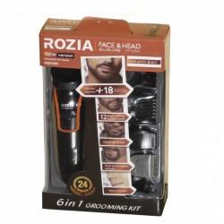 Машинка для стрижки, триммер 6 в 1 ROZIA HQ-5100 Black