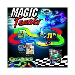 Развивающий Конструктор Magic Tracks Волшебный Меджик Трек Тандер 220 Деталей