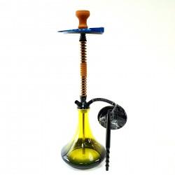 Кальян MAMAY высота 75 см Кальян для курения Кальян для кафе кальян на 1 персону жолтый