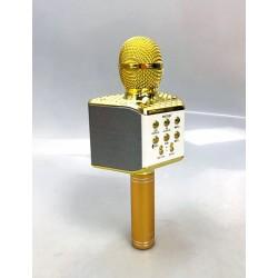 Беспроводной караоке микрофон WS-868 со встроенной светомузыкой