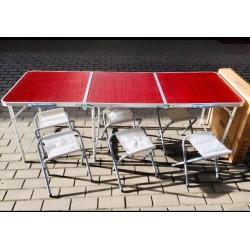 Стол для пикника раскладной Rainberg RB-9303 с 6 стульями