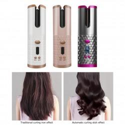 керамическая плойка для завивки волос, Вэйвер, светодиодный дисплей, роликовая волна для завивки, автоматическая
