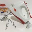 Ручной кухонный миксер WimpeX WX-435 на 7 скоростей, венчики для взбивания, венчики для замеса теста